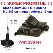 Statii emisie receptie portabile Tecom UHF VHF de la Vox Comp Total