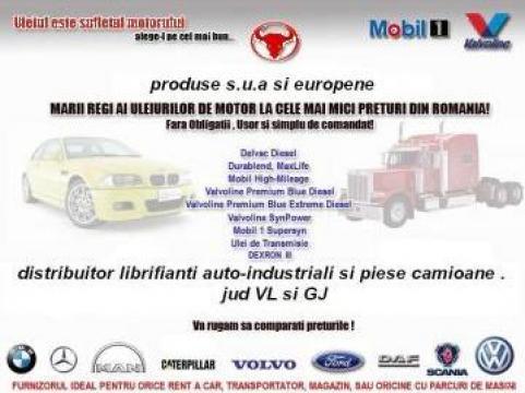 Lubrifianti auto industriali de la Sandrocom Srl