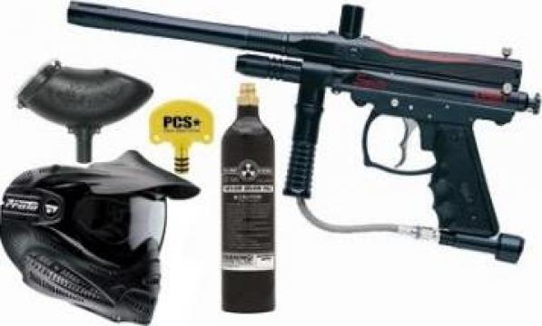 Kit paintball spyder sonix pro iasi s c real sports s for Firma profesional kit