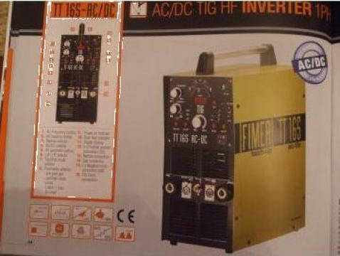Aparat sudura Inverter TIG TT 165 ac/dc Fimer de la Sudofim Serv Srl