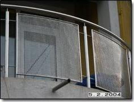 Balustrada inox pentru balcoane si terase