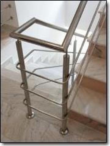 Balustrade inox pentru scari