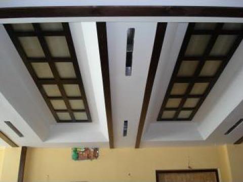 Amenajari interioare, Decoratiuni din lemn masiv