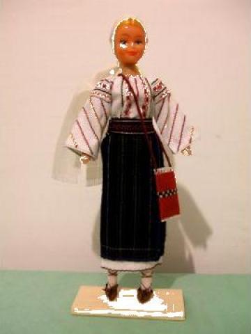 Papusa artizanat fata - Costum popular Suceava de la If Popescu M. Ana