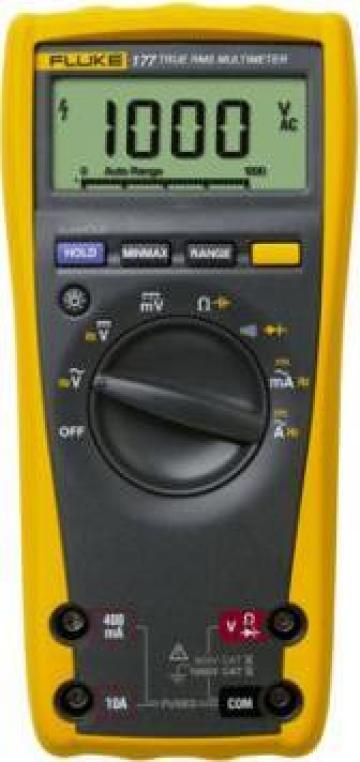 Multimetru digital Fluke 177 de la Nova Test Industrial Srl