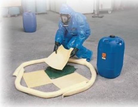 Bariere absorbante pentru produse chimice, agresive