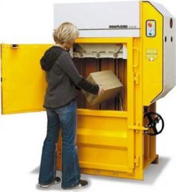 Presa de balotat carton, folie, PET X 10 de la Sc Schuster Recycling Technology Srl
