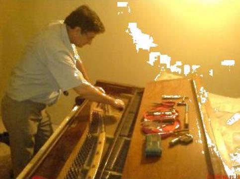 Servicii de acordaje piane de la PFA Tudor Gelu