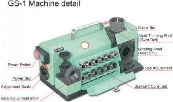 Masina de ascutit burghie 2 - 13 mm de la Artem Group Trade & Consult Srl