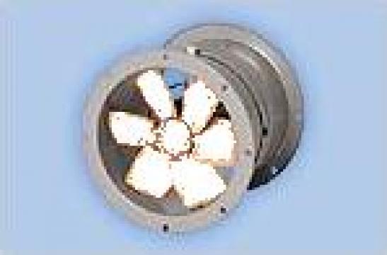 Ventilator axial de tubulatura de la Clima Design Srl.
