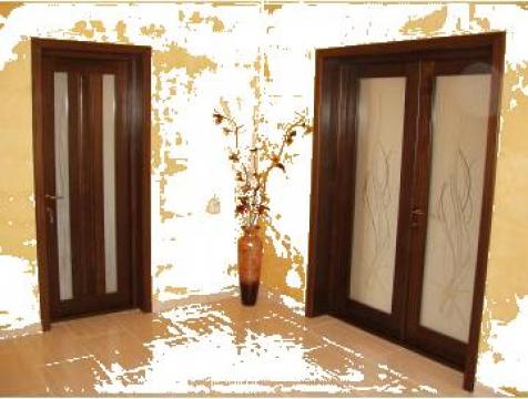 Usi interior lemn masiv - tei de la Casel Impex S.r.l