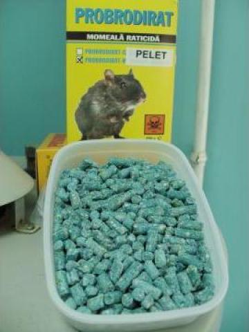 Otrava rozatoare Probrodirat Pelet x 3 kg galeata de la Panthera Med