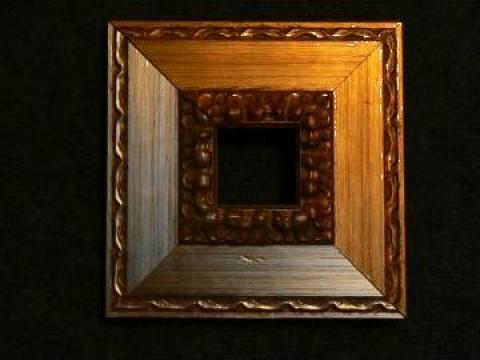 Profil lemn lat pentru rame, tablouri, oglinzi