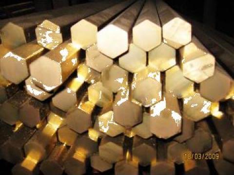 Bara hexagonala din cupru de la MRG Stainless Group Srl
