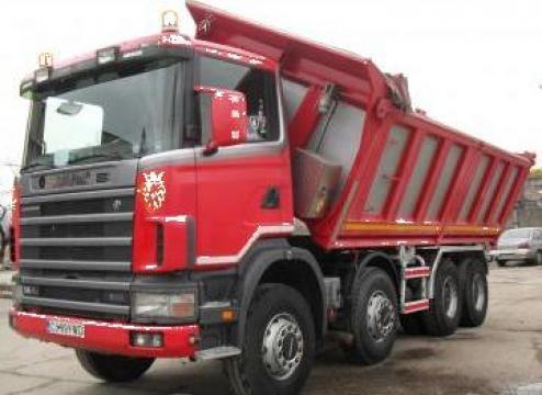 Inchiriere autobasculanta Scania 8x4 de la Ag Trans