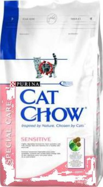 Hrana animale Cat Chow Sensitive 15 kg de la Www.petshoponline.ro