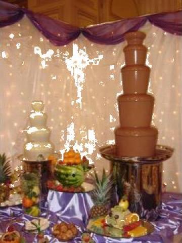 Fantana de ciocolata de la Chocolate Party