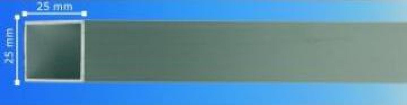 Profil patrat din aluminiu de la Frameart Decor Srl.