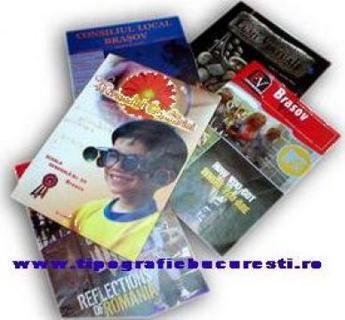 Tipizate certificate de garantie pliante de la Tipografie Bucuresti -leader Print Express
