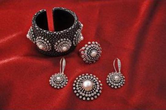 Bijuterii din argint de la Dragan Srl