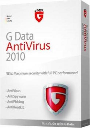 Software GData AntiVirus 2010 de la It Sistem Services