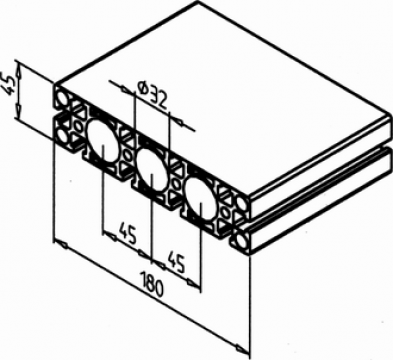 Profil aluminiu de la Minitec Solutions