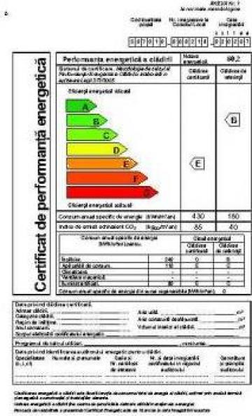 Audit energetic de la Mb Construct