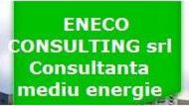 Studii de mediu: bilant mediu, studiu impact de la Eneco Consulting Srl
