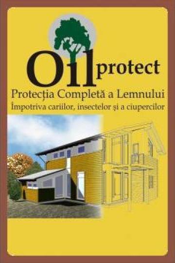 Tratament protectie lemn impotriva cariilor OilProtect