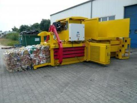 Prese de balotat automate, carton, folie Albamat 1 de la Sc Schuster Recycling Technology Srl