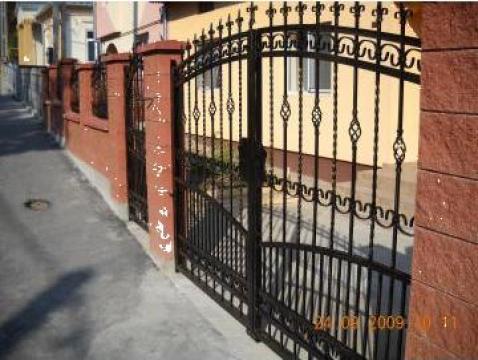 Porti, garduri din fier forjat