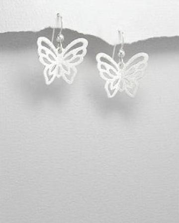 Cercei Argint - Fluturi de la My Silver City Srl