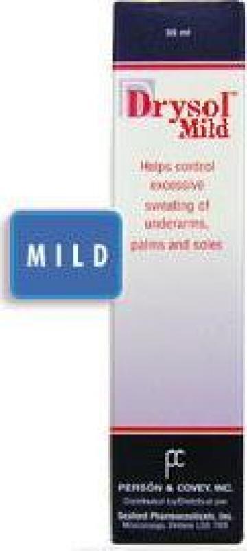Produs cosmetic contra transpiratiei Drysol Mild de la Drysol.ro