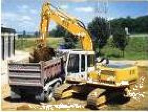 Excavator Liebherr Litronic 912