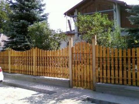 Balustri pentru garduri si porti de la S.c. Euro- Holz- Metal S.r.l.