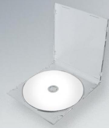 Carcasa CD Slim spate transparent de la Top Production Srl