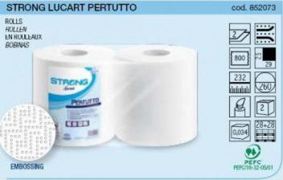 Prosoape lavete din hartie Lucart Pertutto de la Best Distribution Srl