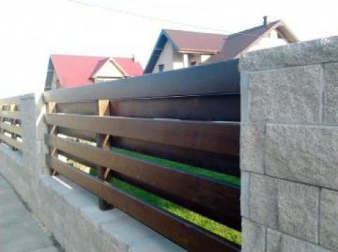 Gard si poarta din lemn - Suceava, Iasi, Neamt, Botosani