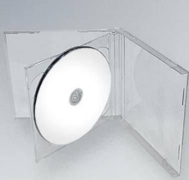 Carcasa CD Dubla Transparenta de la Top Production Srl