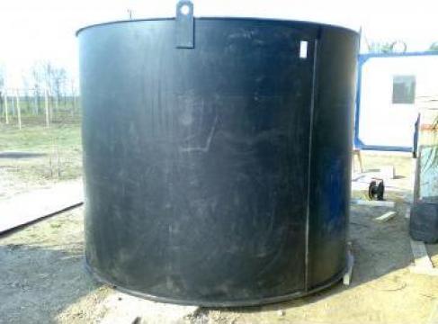 Recipiente cilindrice de plastic Polipropilena/Polietilena de la Plast Galvan Impex Srl