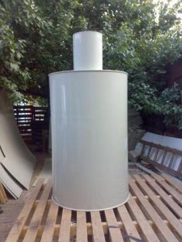 Recipiente cilindrice de plastic de la Plast Galvan Impex Srl