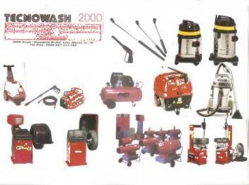 Aparate spalat auto, aspiratoare profesionale, vulcanizare de la Tecnowash 2000 Impex S.R.L