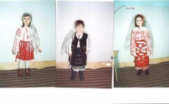 Costume populare copii, fete si baieti de la Marama Musceleana