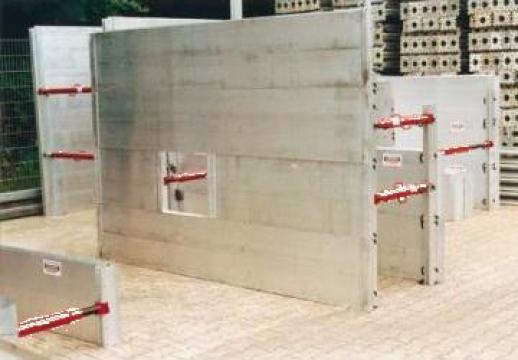 Panouri de aluminiu pentru sprijinire santuri de la Blackbull Com Ro
