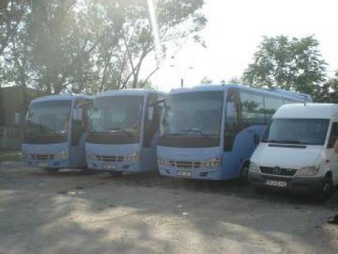 Transport persoane, inchirieri microbuze, autocare de la Omerta Impex Srl