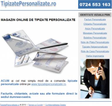Tipizate personalizate - magazin online de la Tipizatepersonalizate.ro