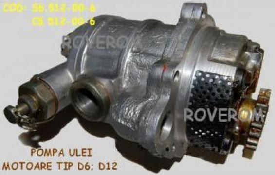 Pompa ulei motor D6; D12