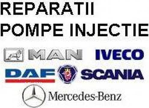 Reparatii pompe injectie MAN, Iveco, Scania, DAF, Volvo de la Endor Diesel