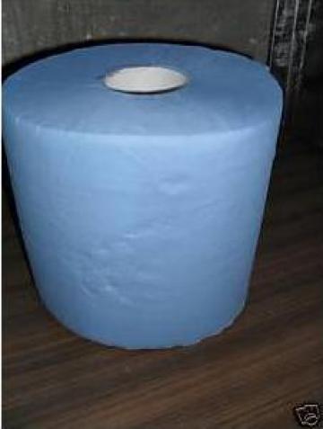 Hartie albastra industriala rola