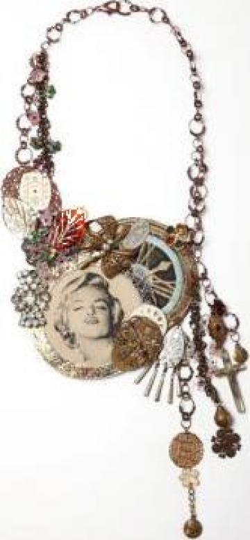 Coliere exclusive handmade de la Artelier Lorina
